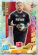 Germany Match Attax 2018 Match Winners Cards