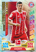 Germany Match Attax 2018 100 Club Cards