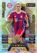 Germany Match Attax 2018 100 Club Legends Cards