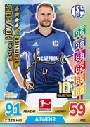 Germany Match Attax 2018 Experts Cards