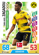 Germany Match Attax 2018 Shooting Stars Cards