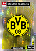 Germany Match Attax 2019 Borussia Dortmund Cards