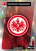 Germany Match Attax 2019 Eintracht Frankfurt Cards