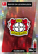Germany Match Attax 2019 Bayer Leverkusen Cards