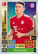 Germany Match Attax 2019 100 Club Cards