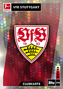 Germany Match Attax 2019 Stuttgart Cards