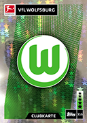Germany Match Attax 2019 Wolfsburg Cards