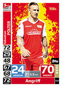 Germany Match Attax 2019 Union Berlin Cards