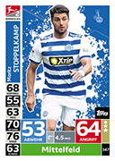 Germany Match Attax 2019 Duisburg Cards