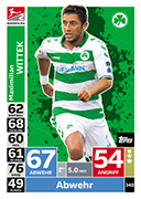 Germany Match Attax 2019 Greuther Furth Cards
