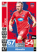 Germany Match Attax 2019 Heidenheim Cards
