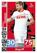 Germany Match Attax 2019 Koln Cards