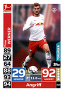 Germany Match Attax 2019 Goal Scorers Cards