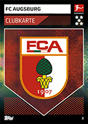 Germany Match Attax 2020 Augsburg Cards