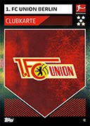 Germany Match Attax 2020 Union Berlin Cards