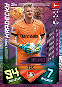 Germany Match Attax 2020 Match Winners Cards