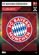 Germany Match Attax 2020 Club Badge Cards
