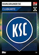 Germany Match Attax 2020 Karlsruher Cards