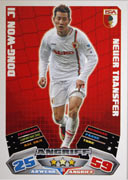 Germany Match Attax Extra 2013 Augsburg Cards