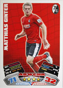 Germany Match Attax Extra 2013 Freiburg Cards