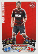 Germany Match Attax Extra 2013 Nurnberg Cards