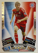Germany Match Attax Extra 2013 100 Club Cards