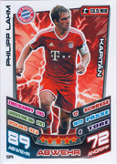 Germany Match Attax Extra 2014 Captains Cards