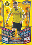 Germany Match Attax Extra 2014 Fan Favourites