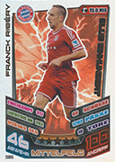 Germany Match Attax Extra 2014 100 Club Cards