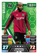 Germany Match Attax Extra 2015 Hannover Cards
