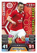 Germany Match Attax Extra 2015 New Transfers Cards