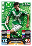 Germany Match Attax Extra 2015 Wolfsburg Cards