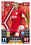 Germany Match Attax Extra 2015 Captains Cards