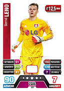 Germany Match Attax Extra 2015 Goalkeepers Cards