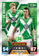 Germany Match Attax Extra 2015 Duos Cards