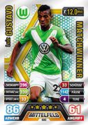 Germany Match Attax Extra 2015 Match Winners Cards