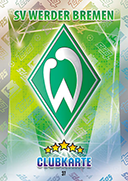 Germany Match Attax Extra 2016 Werder Bremen Cards