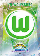 Germany Match Attax Extra 2016 Wolfsburg Cards