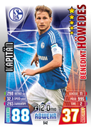 Germany Match Attax Extra 2016 Captains Cards