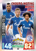 Germany Match Attax Extra 2016 Offensive Trios Cards