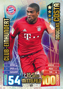 Germany Match Attax Extra 2016 100 Club Cards
