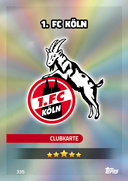 Germany Match Attax Extra 2017 Koln Cards