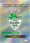 Germany Match Attax Extra 2017<br />Greuther Furth Cards