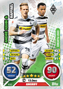 Germany Match Attax Extra 2017 Duo Cards