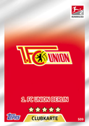 Germany Match Attax Extra 2018 Union Berlin Cards