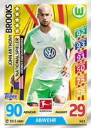 Germany Match Attax Extra 2018 National Player Cards