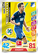 Germany Match Attax Extra 2018 Goal Cards