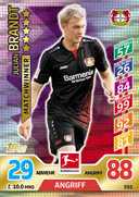 Germany Match Attax Extra 2018 Match Winners Cards