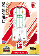 Germany Match Attax Extra 2018 Augsburg Cards