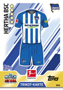 Germany Match Attax Extra 2018 Hertha Berlin Cards